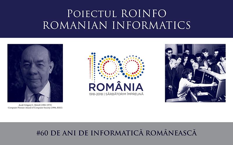 O istorie ce trebuie cunoscută: proiectul ROINFO, Informatica și IT în domeniile tehnic, economic și social