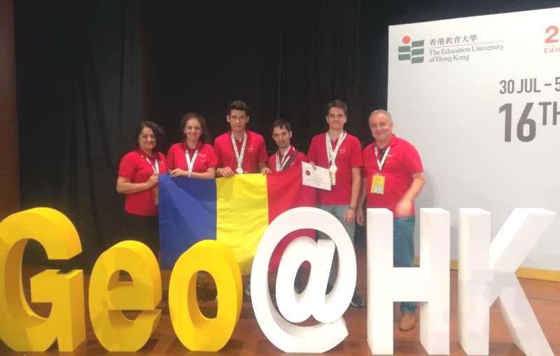 Elevii români au obţinut numeroase medalii la Olimpiada Internaţională de Geografie