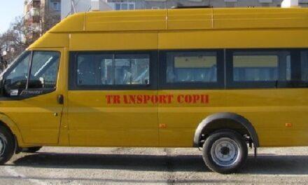 Proiect pilot pentru transport şcolar în municipiul Sibiu