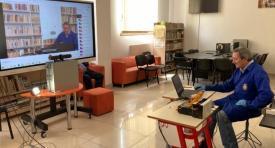 """Sistem de ultimă generaţie pentru cursurile online, utilizat la Colegiul  Naţional """"Mircea cel Bătrân"""" din Constanţa"""