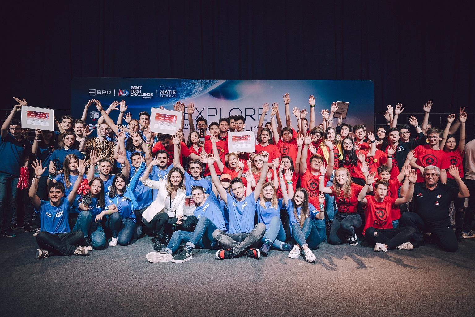 """""""Nație Prin Educație"""" marchează un nou eveniment de robotica sub egida Sezonului România – Franța"""
