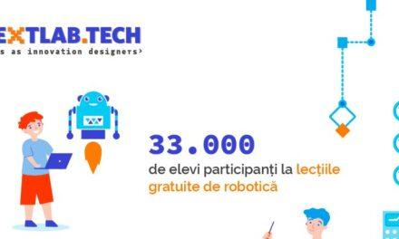 33.000 de elevi au participat la concursul de robotică NextLab