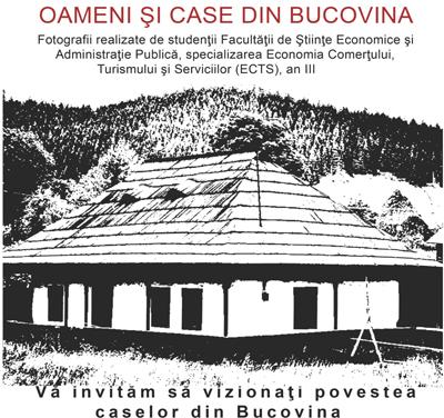 """Eveniment """"Oameni și Case din Bucovina"""" la Universitatea """"Ștefan cel Mare"""" din Suceava"""