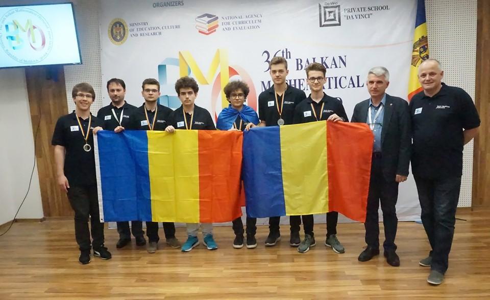 România a obținut 6 medalii la Olimpiada Balcanică de Matematică pentru seniori