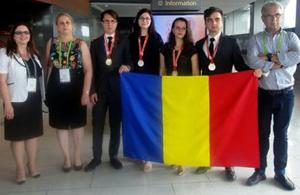 România a câştigat două medalii de aur şi două de argint la Olimpiada Internaţională de Chimie