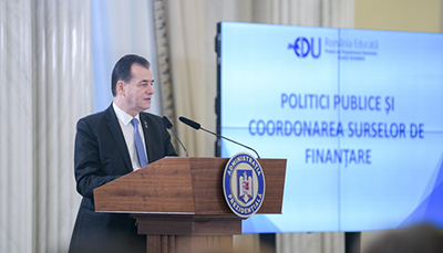 Ludovic Orban: Ultimele decenii au marcat România printr-o scădere a calităţii educaţiei în foarte multe şcoli