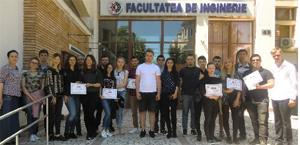 """Premii importante pentru studenţii Facultății de Inginerie Mecanică, Industrială și Maritimă (FIMIM) a Universității """"Ovidius"""" din Constanța"""