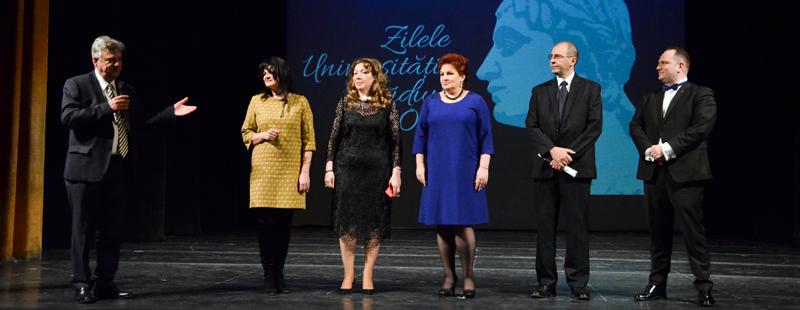 """Universitatea """"Ovidius"""" din Constanţa a celebrat Zilele Universităţii în perioada 19-23 martie"""