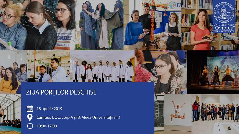 """Ziua Porților Deschise la Universitatea """"Ovidius"""" din Constanța"""