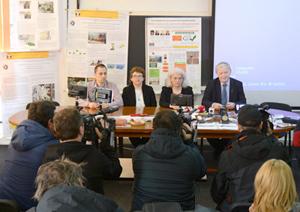 Parizer cu şrot de cătină, produs inovator al Facultăţii de Ştiinţa şi Ingineria Alimentelor a Universităţii Dunărea de Jos