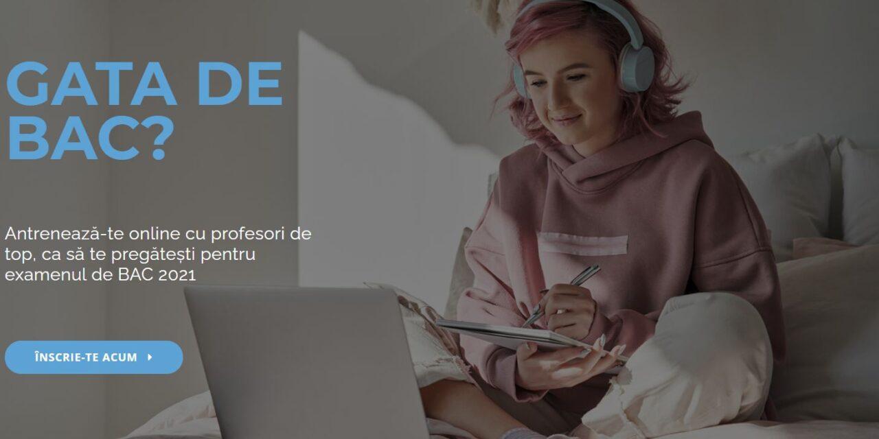 Platformă online pentru pregătirea examenului de Bacalaureat