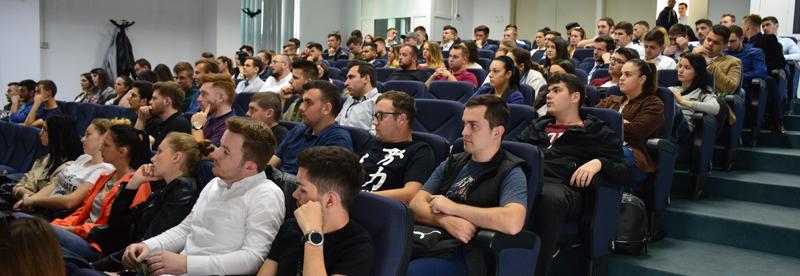 PRO CARIERA 2018 – peste 550 de studenți, 27 de firme participante, expozanți și simulări de interviuri pentru angajare