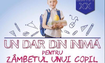 Proiect caritabil pentru elevi defavorizați în Săptămâna Națională a Voluntariatului