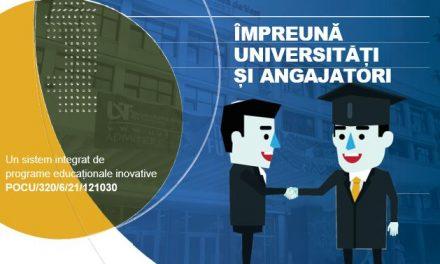 """Universitatea """"Ştefan cel Mare"""" din Suceava a implementat proiectul """"Împreună universități și angajatori. Un sistem integrat de programe educaționale inovative"""""""