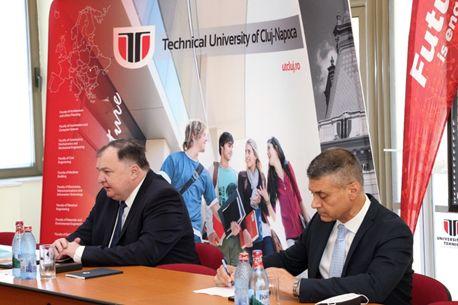 Ambasadorul Statului Israel în România, în vizită la Universitatea Tehnică din Cluj-Napoca