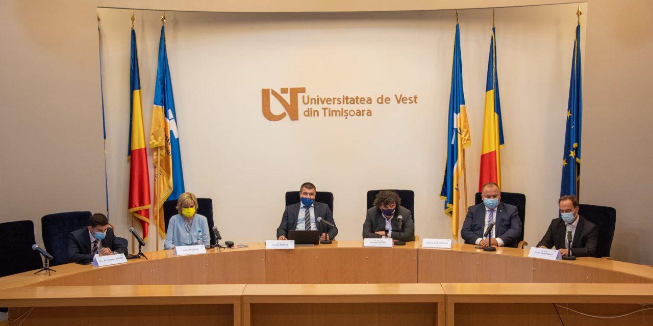 Universităţile din Timişoara vor fundamenta un memorandum pe tema decalajelor de finanţare a centrelor universitare din ţară