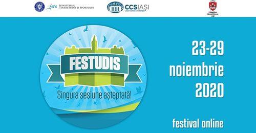 """Festivalul """"FEstudIS"""" este organizat online de Casa de Cultură a Studenţilor Iaşi"""