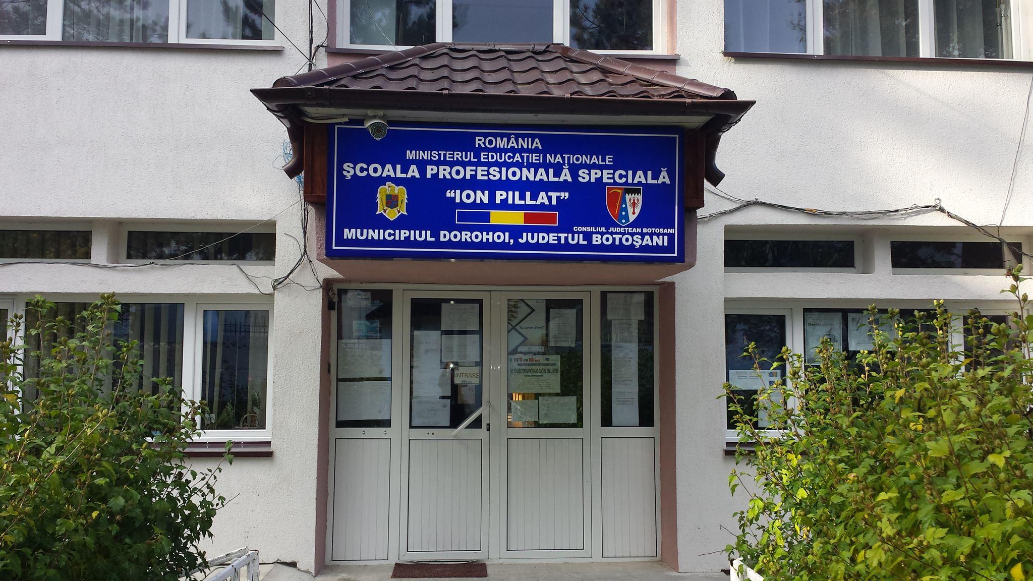 """""""Școli mai atractive și mai creative"""" (SMAC)- proiect  Erasmus +  la Școala Profesională Specială """"Ion Pillat"""" din Dorohoi"""