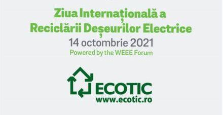 Participă la acțiunile ECOTIC dedicate Zilei Internaționale a Reciclării Deșeurilor Electrice