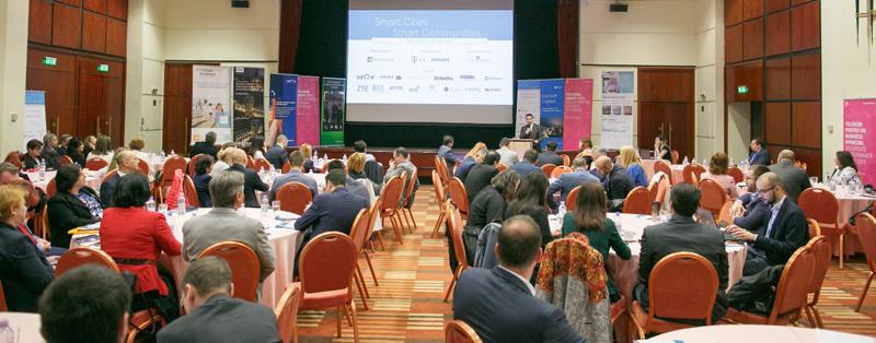 A 6-a conferinţă din 2017 în programul Smart Cities | Smart Communities a avut loc în Bucureşti