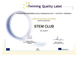 STEM club – un proiect de succes al elevilor din  Botoșani
