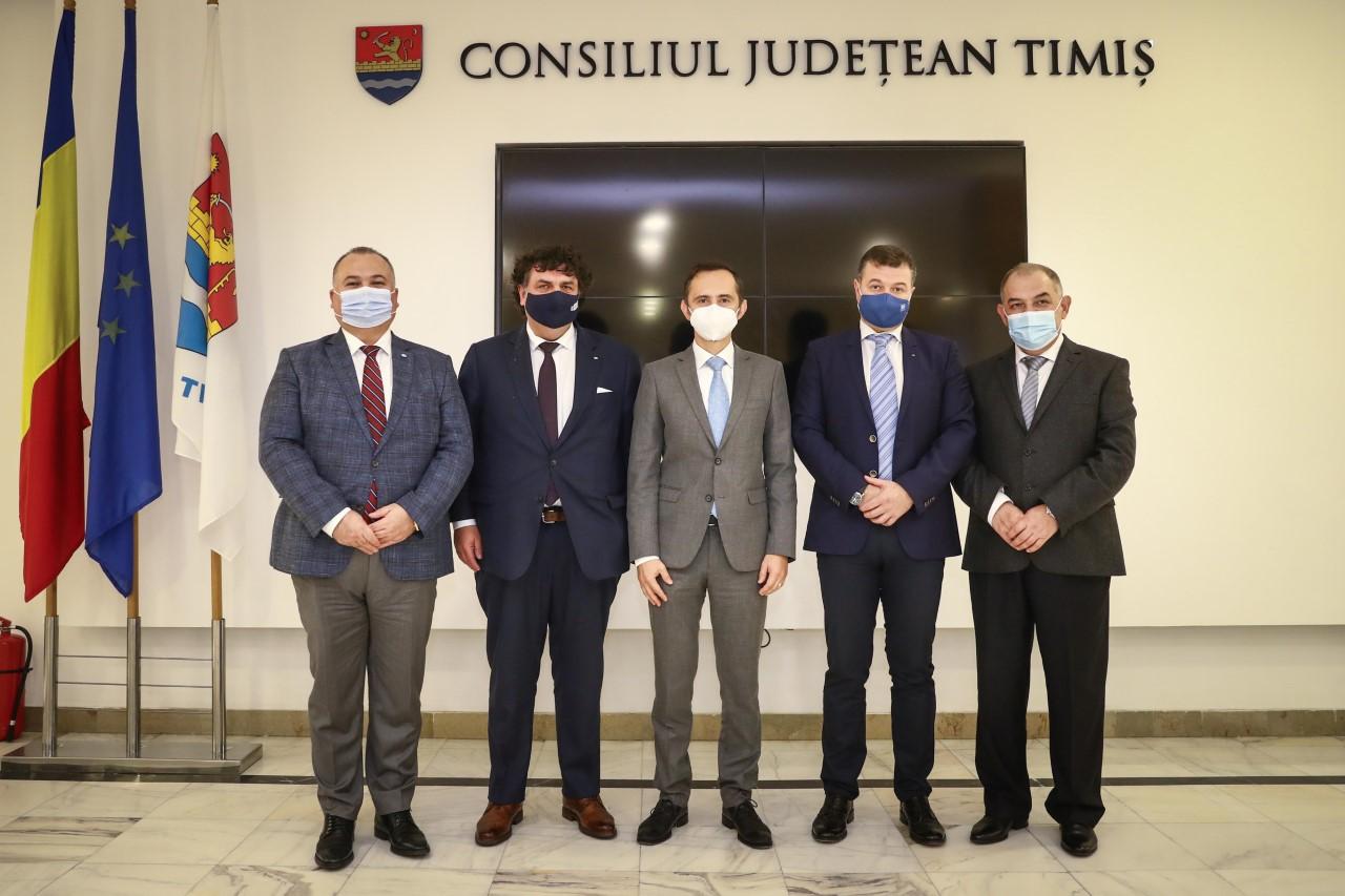 Universitățile timișorene și Consiliul Județean, umăr la umăr în generarea de proiecte majore