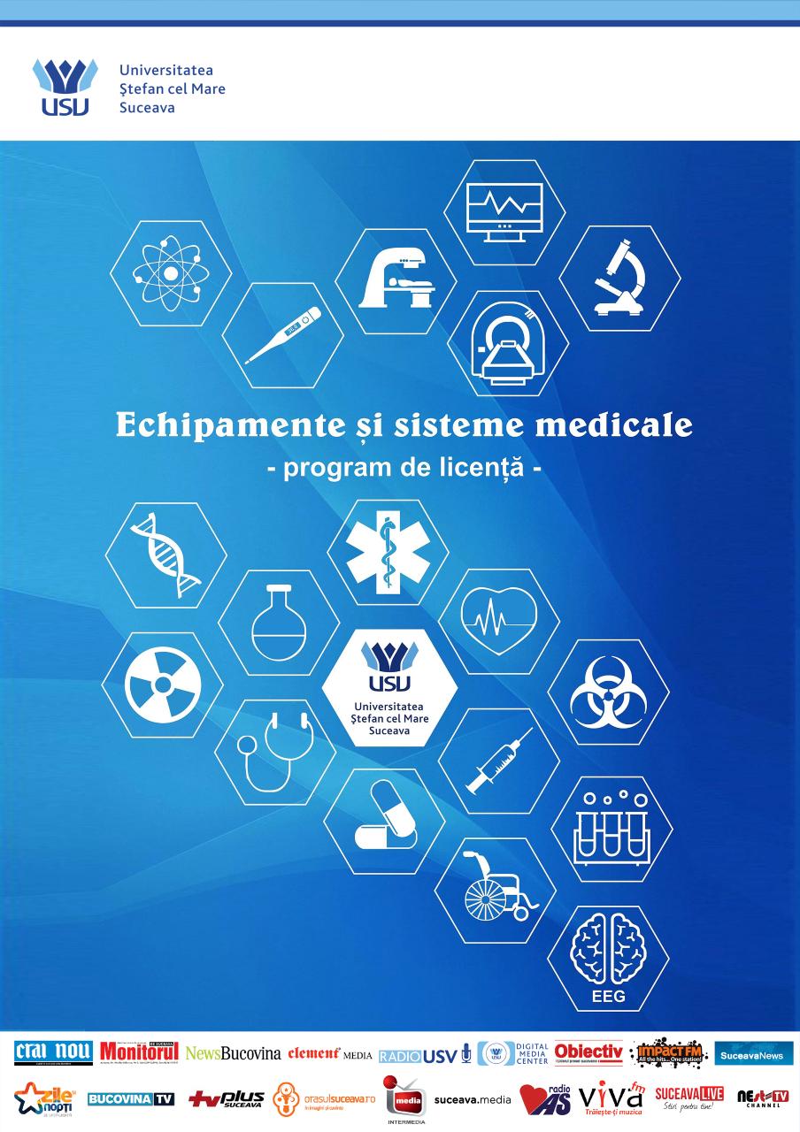 """""""Echipamente și sisteme medicale""""- proiect dezvoltat în cadrul Universității """"Ştefan cel Mare"""" din Suceava"""