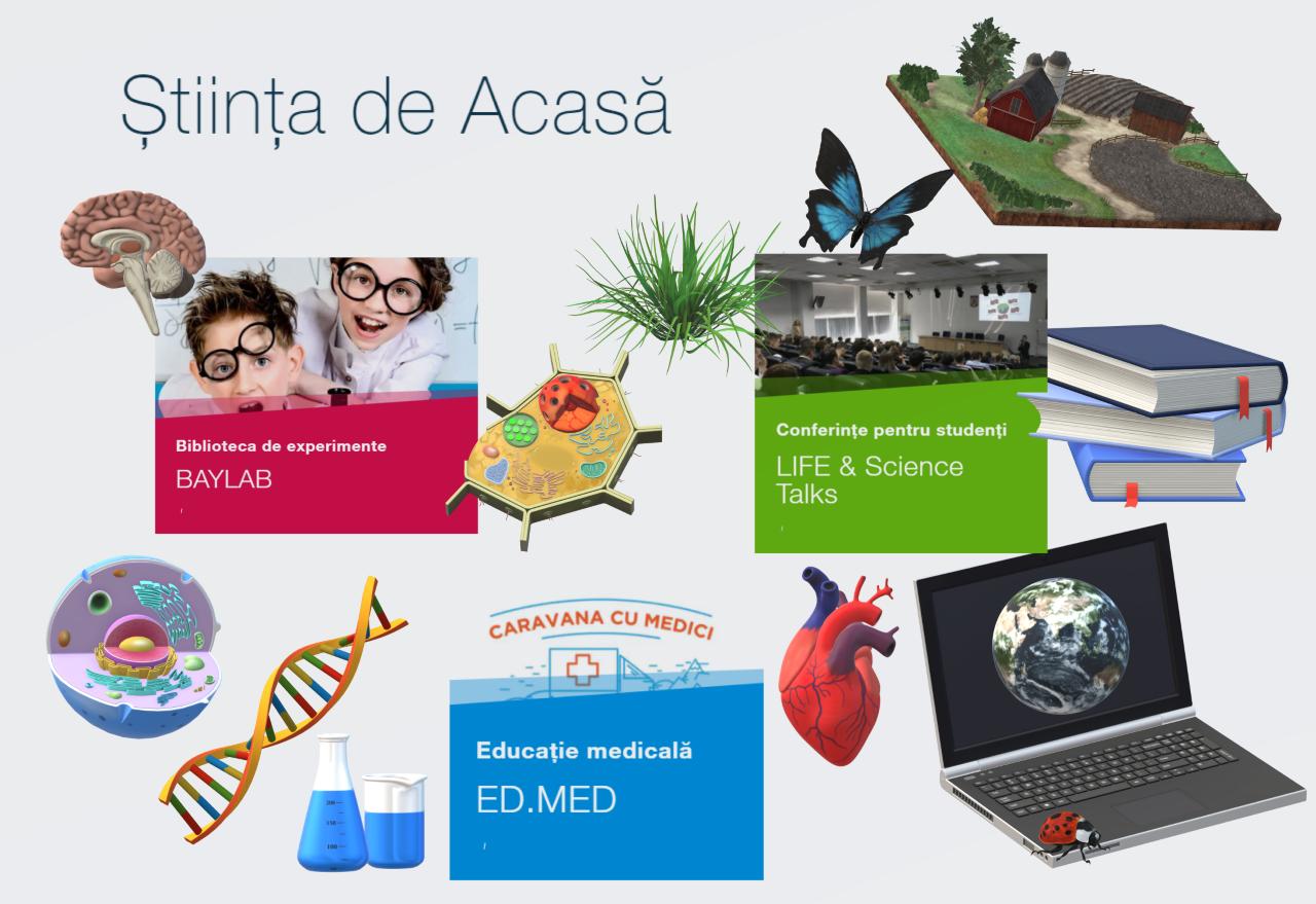 Baylab aduce știința în casele copiilor, ca parte a proiectului Știința de Acasă