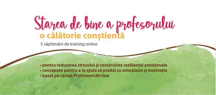 """Două companii private susțin programul """"Profesori Fericiți pentru România"""", ce oferă training gratuit profesorilor din întreaga țară"""