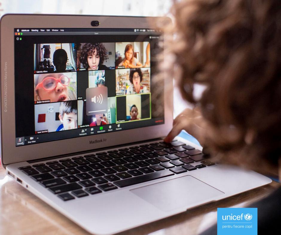 Raport UNICEF: Două treimi dintre copiii de vârstă şcolară din lume nu au acces la Internet acasă
