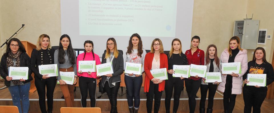 """La Universitatea """"Vasile Alecsandri"""" din Bacău a avut loc conferinţa finală a proiectului SICOC"""