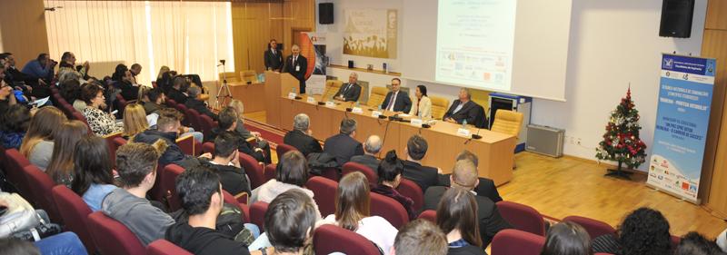 """Facultatea de Inginerie din cadrul Universităţii """"Vasile Alecsandri"""" din Bacău a organizat două manifestări ştiinţifice dedicate studenţilor şi elevilor"""