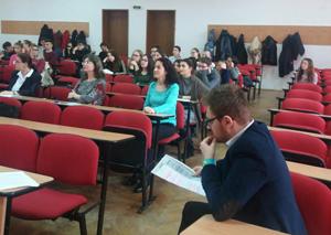 """Ziua Anglofoniei a fost sărbătorită la Facultatea de Litere a Universităţii """"Vasile Alecsandri"""" din Bacău"""