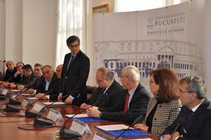 Parteneriat Universitatea din Bucureşti – institutele de cercetare de pe Platforma Măgurele