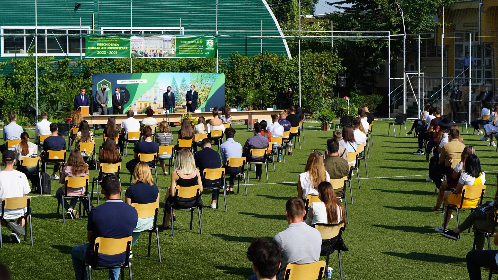 USAMV Iași a început noul an universitar cu o ceremonie inedită
