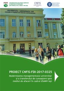 Modernizarea managementului universitar la USAMV Iași