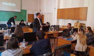Workshop la Facultatea de Medicină Veterinară a USAMV Iaşi