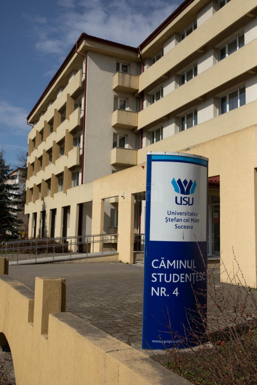 USV a pus la dispoziţie un cămin pentru cazarea cadrelor medicale de la Spitalul Judeţean Suceava