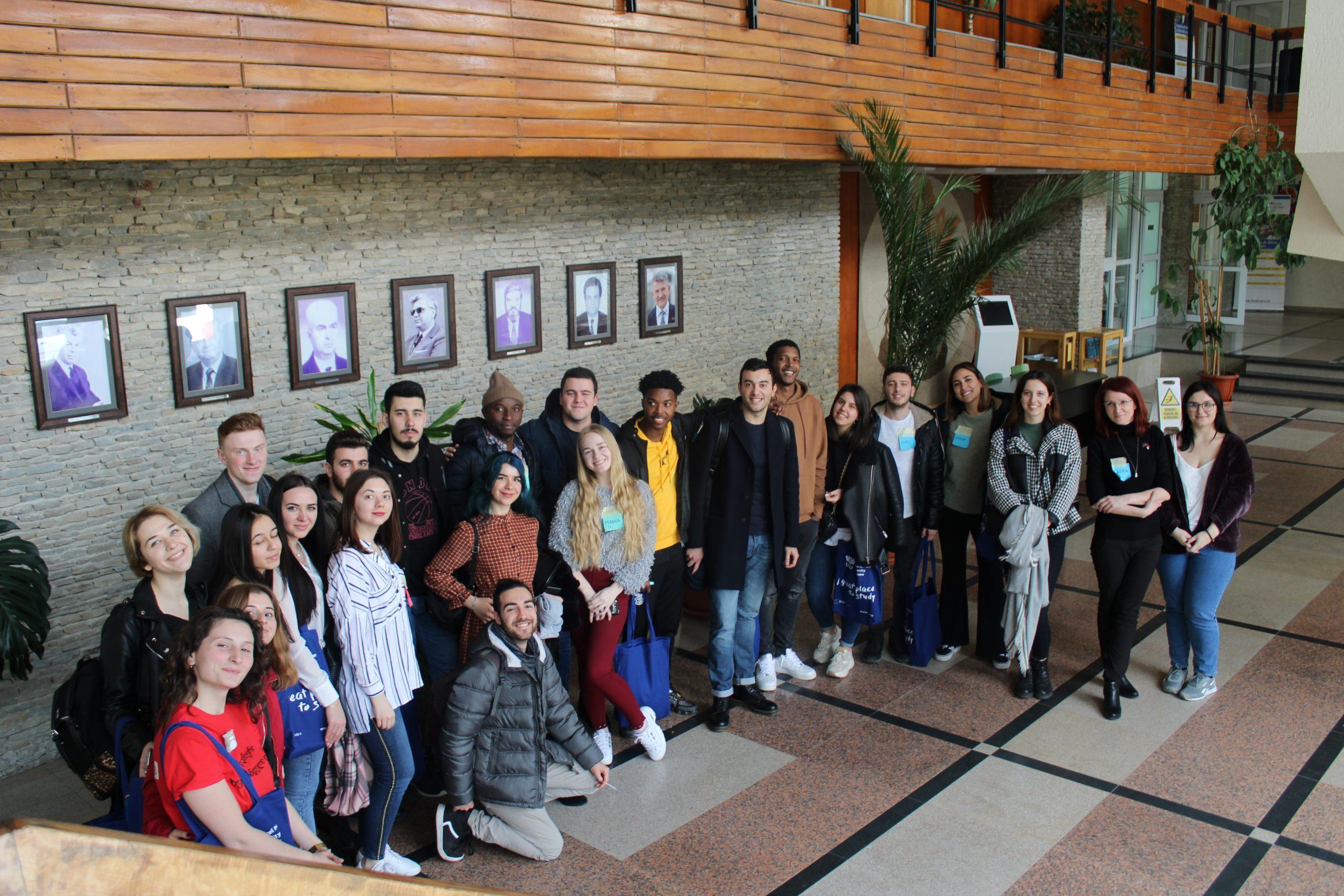 Erasmus Welcome Day: o nouă serie de studenți străini la USV