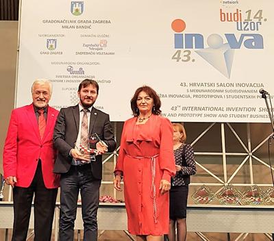 USV a câştigat Premiul pentru cea mai bună invenţie europeană la INOVA BUDI UZOR 2018