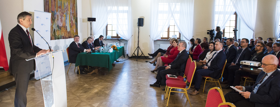 """Marek Kuchcinski a adresat o scrisoare de mulţumire Universității """"Ștefan cel Mare"""" din Suceava"""