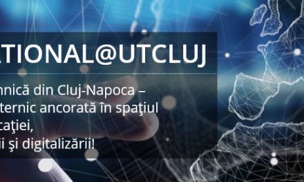 Universitatea Tehnică din Cluj-Napoca a lansat Blogul International@UTCluj