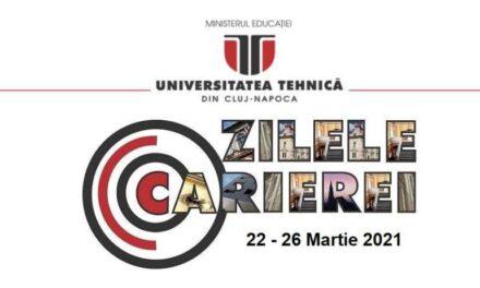 Universitatea Tehnică din Cluj-Napoca organizează Zilele Carierei – eveniment dedicat dezvoltării profesionale a studenților