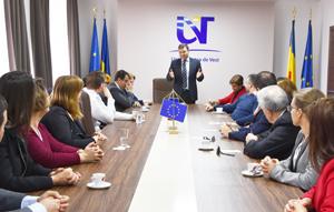 Profesori din 12 țări, la Universitatea de Vest din Timișoara