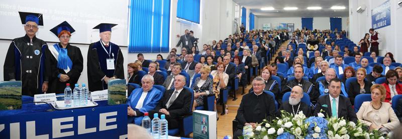 """Pe 2 mai este sărbătorită ziua Universităţii de Vest """"Vasile Goldiş"""" din Arad"""