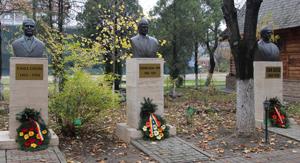 UVVG a deschis manifestările dedicate Centenarului Marii Uniri prin omagierea corifeilor Vasile Goldiş, Ștefan Cicio Pop și Ioan Suciu