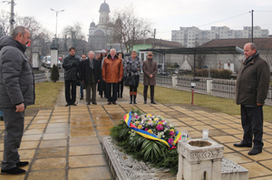 UVVG l-a comemorat pe ideologul Marii Uniri, Vasile Goldiș