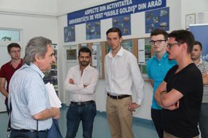 """Școală de Vară în domeniul urologiei: """"Endourology Surgery Simulation"""", în organizarea Universității de Vest """"Vasile Goldiș"""""""