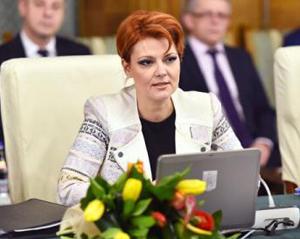 Lia Olguța Vasilescu: Toate salariile bugetarilor cresc cu 25% de la 1 ianuarie 2018