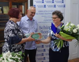 """Educatoarea Zamfira Chiș, prima laureată a proiectului """"Fii tu însăți schimbarea!"""""""